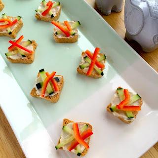 Garlic-Herb Mini Toast Bites
