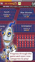 Screenshot of QuizTix: Movies Quiz