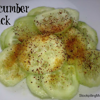 Cucumber Healthy Snack Recipes.