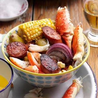Carolina Crab Boil.