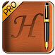 Handrite Notes Notepad Pro icon