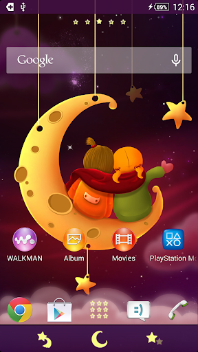 XPERIA™ THEME Bestfriends