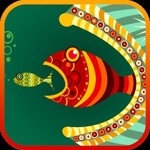 大魚吃小魚 3D LOGO-APP點子