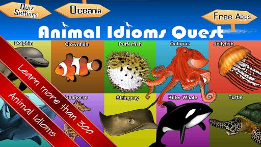 Animal Idioms Metaphor Quiz