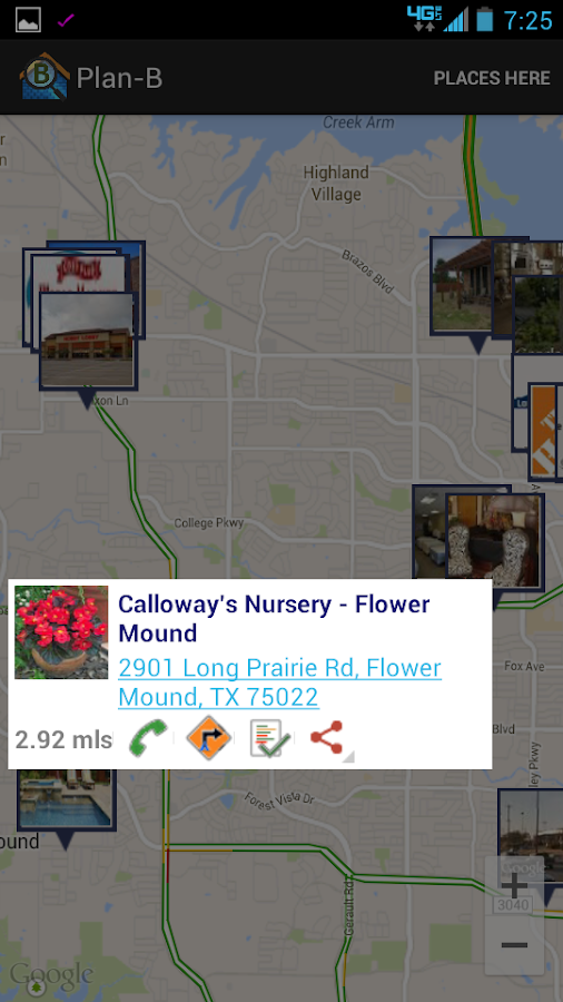 Plan-B: Similar Places Nearby- screenshot