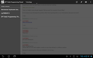 Screenshot of Clover