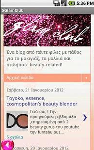 5 Glam Club- screenshot thumbnail