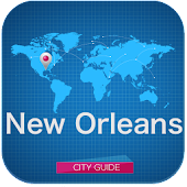 New Orleans Guide, map, hotels