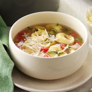 Basil Tortellini Soup