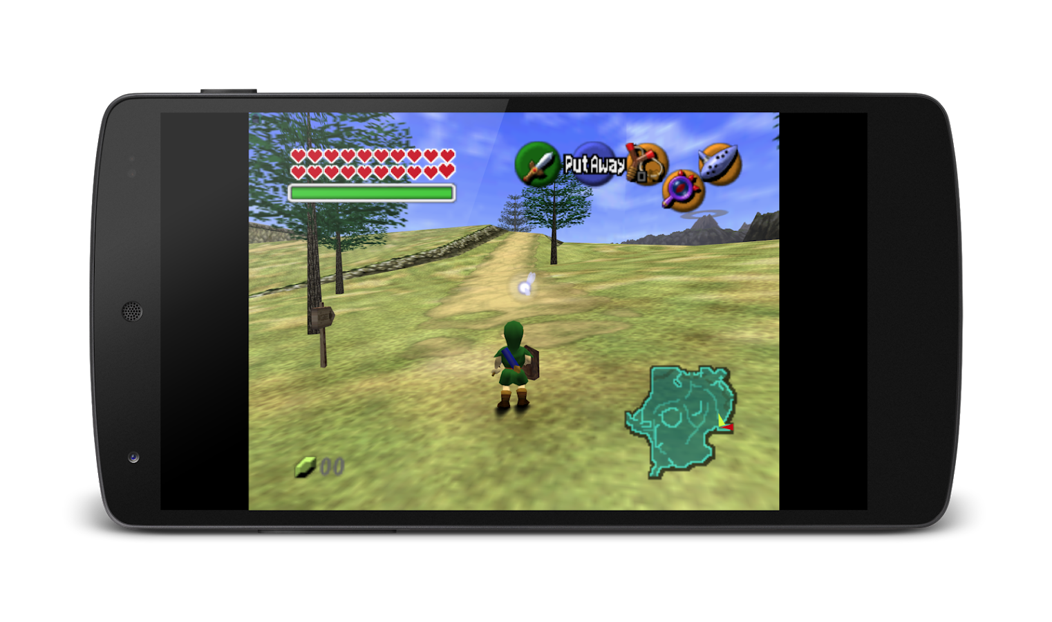 MegaN64 (N64 Emulator)- screenshot