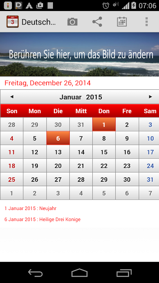 deutsch kalender 2015 android apps on google play. Black Bedroom Furniture Sets. Home Design Ideas