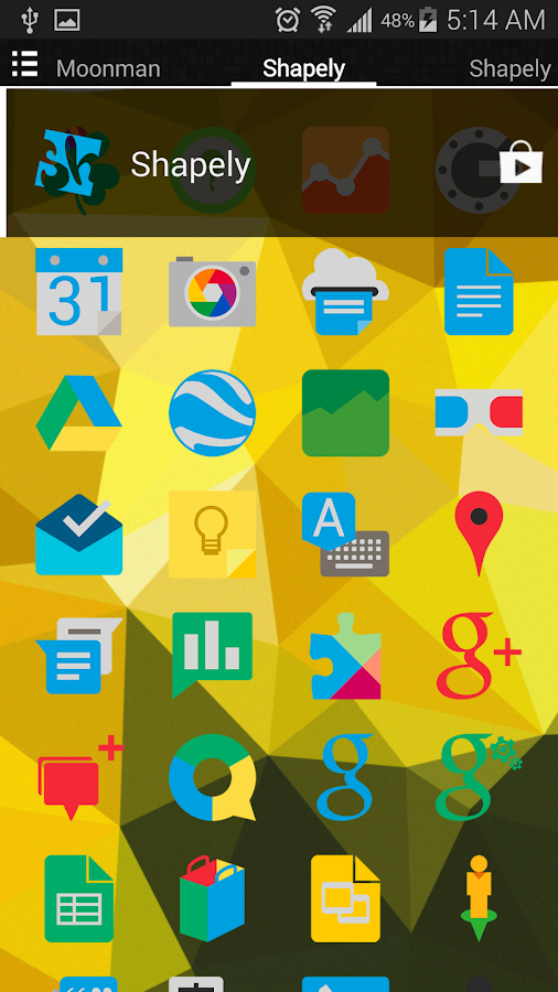 Shapely Icon Pack- screenshot