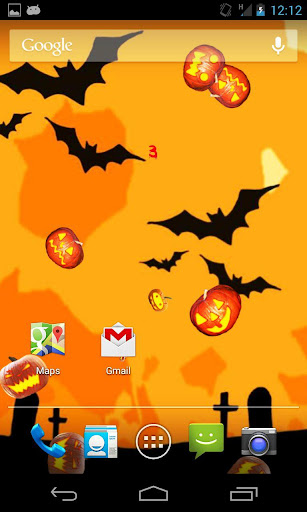 【免費個人化App】Halloween live wallpaper Game-APP點子