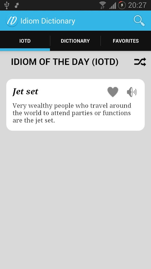Idiom Dictionary - screenshot