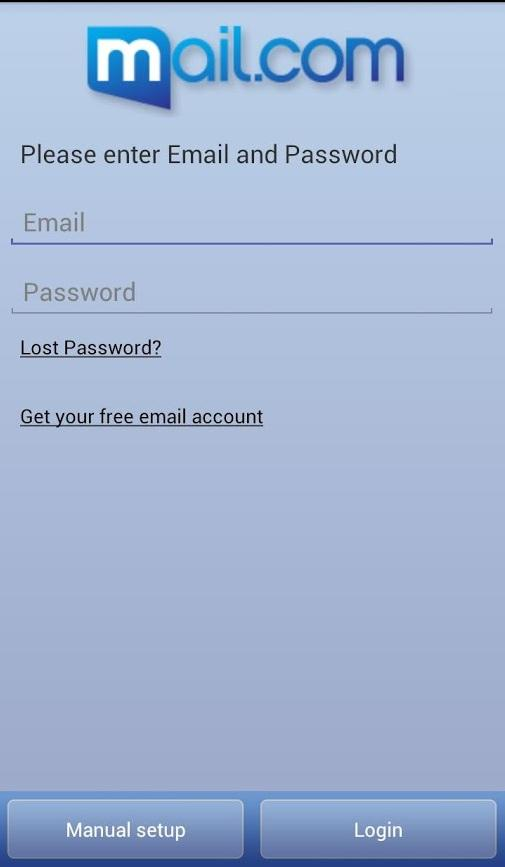 mail.com mail - screenshot