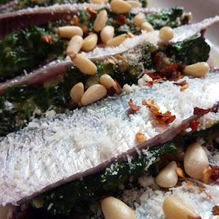 Spinach Stuffed Sardines.