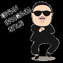 Gangnam Style Sticker icon