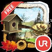 UR 3D Four Seasons Wallpaper