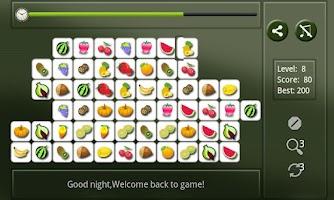 Screenshot of Cute Fruit Connect