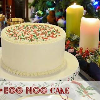 Egg Nog Cake