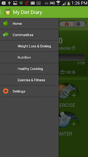 My Diet Diary Calorie Counter - screenshot thumbnail