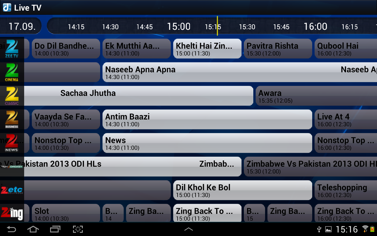 Ditto TV | Mobile TV | Live TV - screenshot