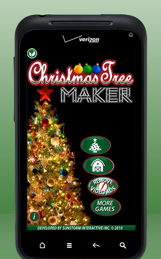 Christmas Tree Maker - screenshot