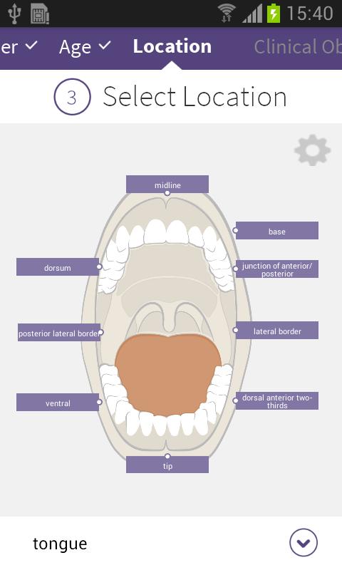 ADA Oral Pathologist - screenshot