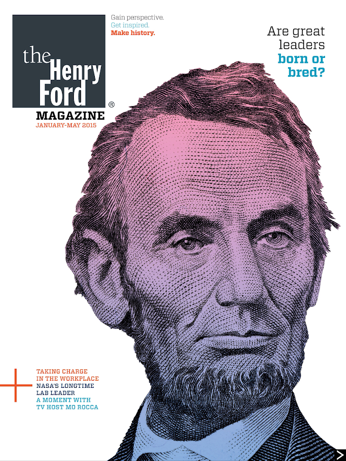 The Henry Ford Digital Magazin - screenshot