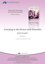 Listening to the Person with Dementia