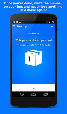 Screenshots for BoxHopp