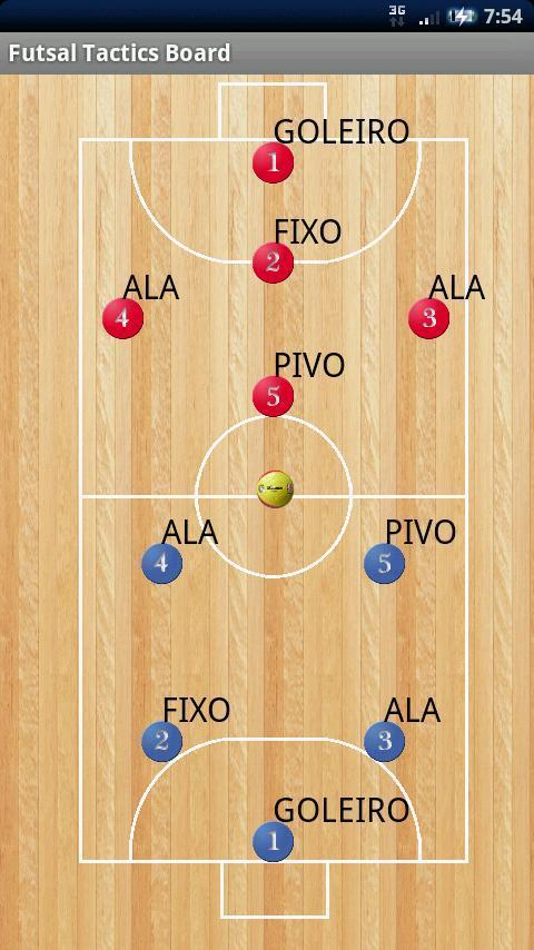 Futsal Tactics Board [Free] - screenshot
