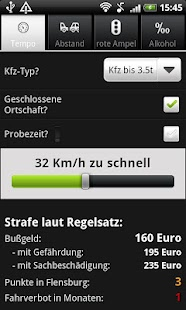 Bußgeldrechner Pro - screenshot thumbnail