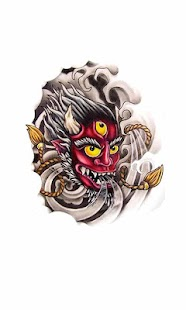 Japanese Tattoo Designs #1 - screenshot thumbnail