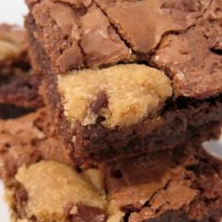 Chocolate Chip Cookie Dough Brownies.