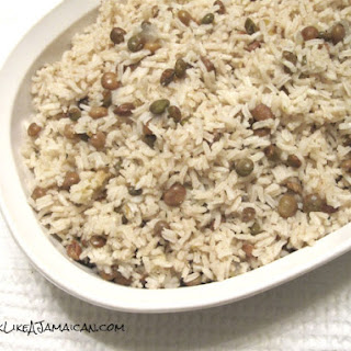 Jamaican Gungo Peas and Rice