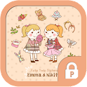 Twin sister Emma&Nikita theme icon