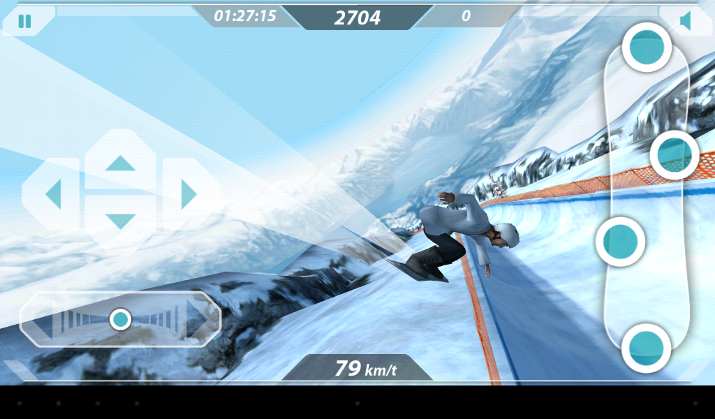 Mr. Melk Winter Games- screenshot