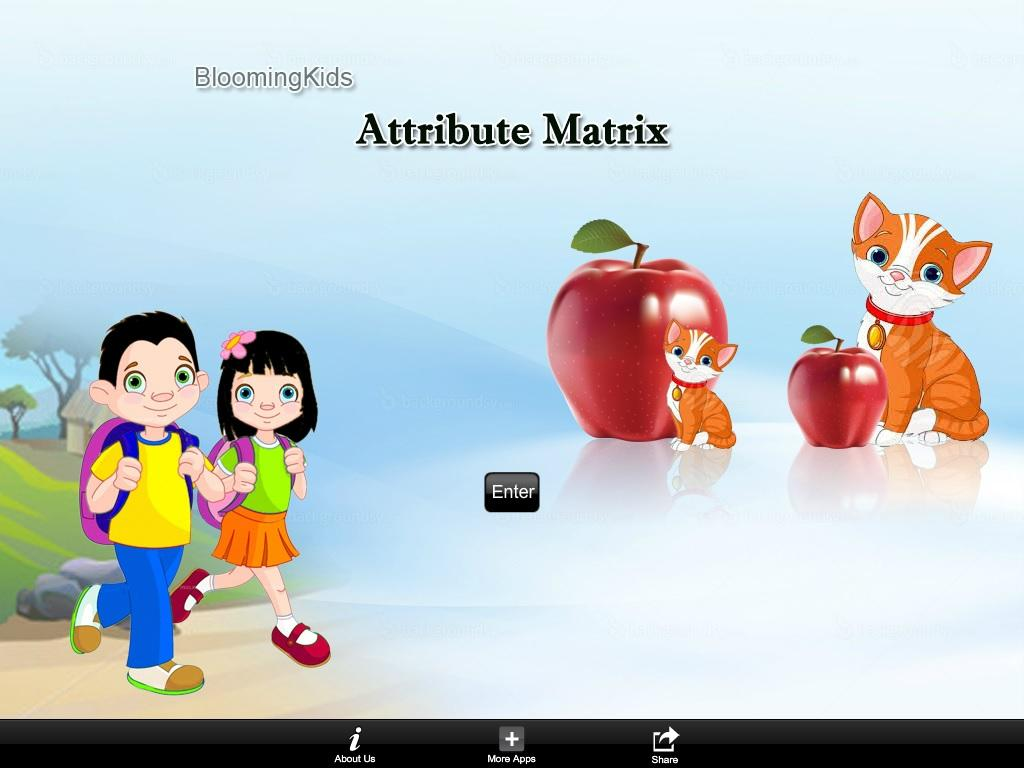 Attribute Matrix Lite Version- screenshot