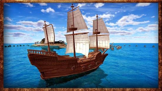 海盗船赛3D