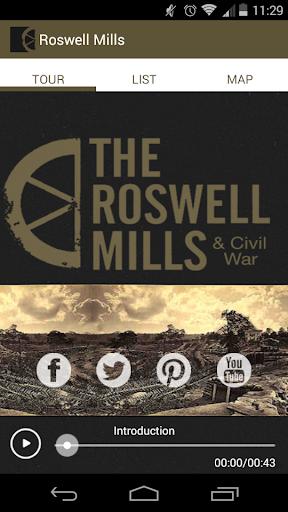 Roswell Mills Civil War Tour
