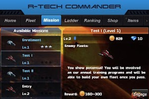 Screenshot of R-Tech Commander: Galaxy