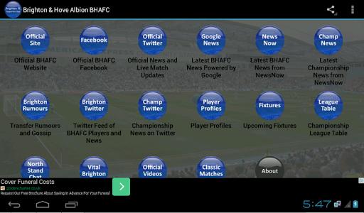 Brighton Hove Albion BHAFC