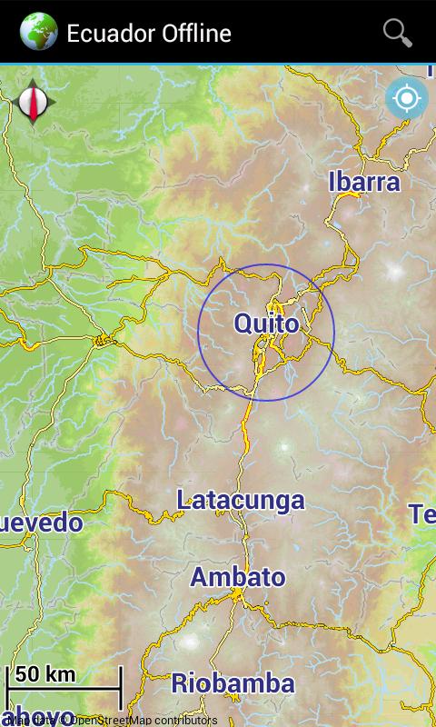 Offline Map Ecuador Android Apps On Google Play - Map ecuador