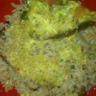 Garam Masala Seared Salmon with Coconut-Curry Butter.