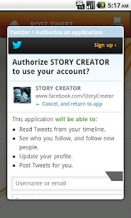 STORY CREATOR - screenshot thumbnail