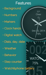 Watch Faces for Android Wear - screenshot thumbnail