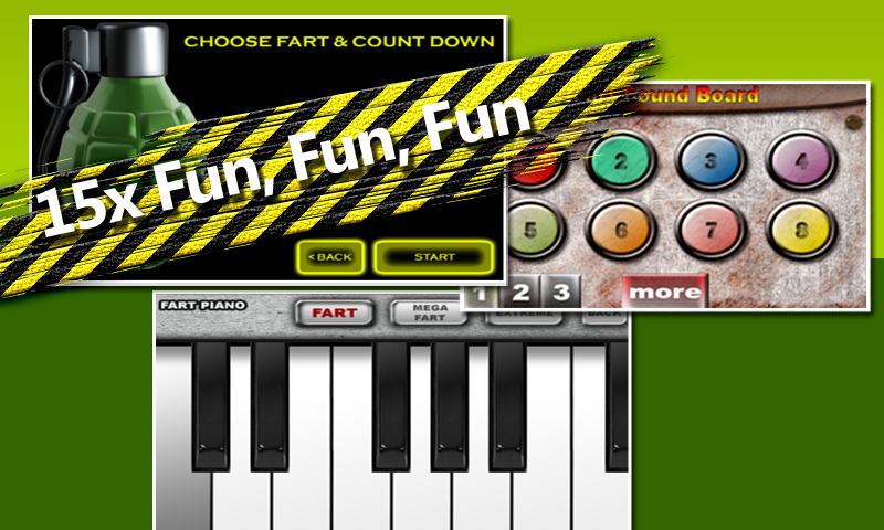Fart Sound Board: Funny Sounds - screenshot