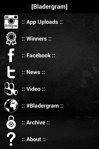 Bladergram - screenshot