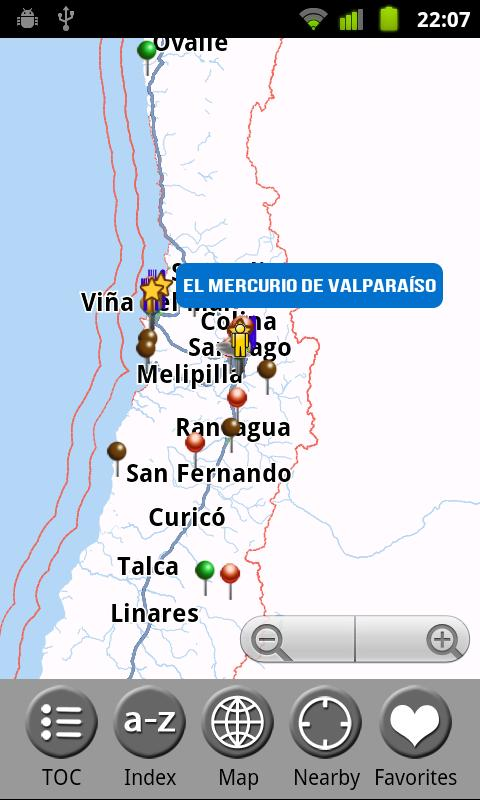 Chile - Travel Guide - screenshot